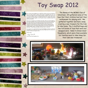 MOMS Club Toy Swap 2012
